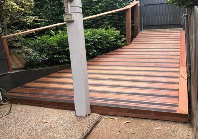 Deck-walk-way